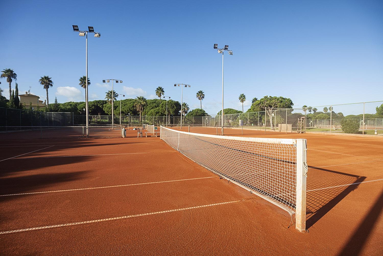 Pistas de Tenis en Chiclana