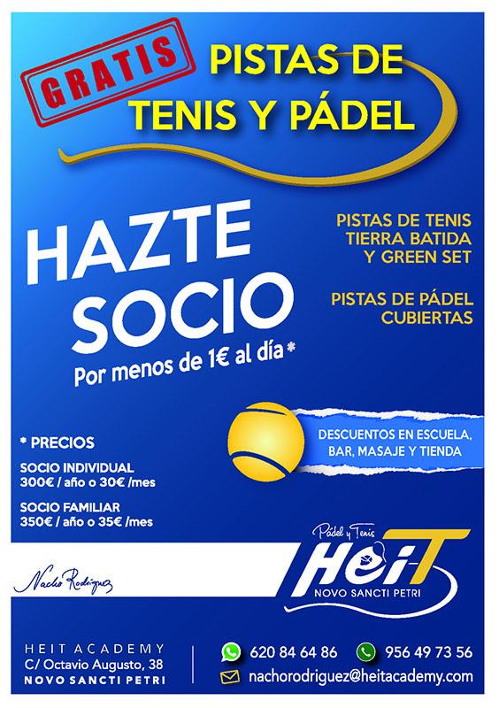 Socios Club de Pádel y Tenis
