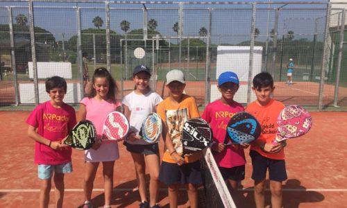 Torneos de Pádel Infantiles en Verano