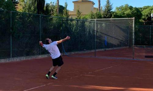 Clase de Tenis