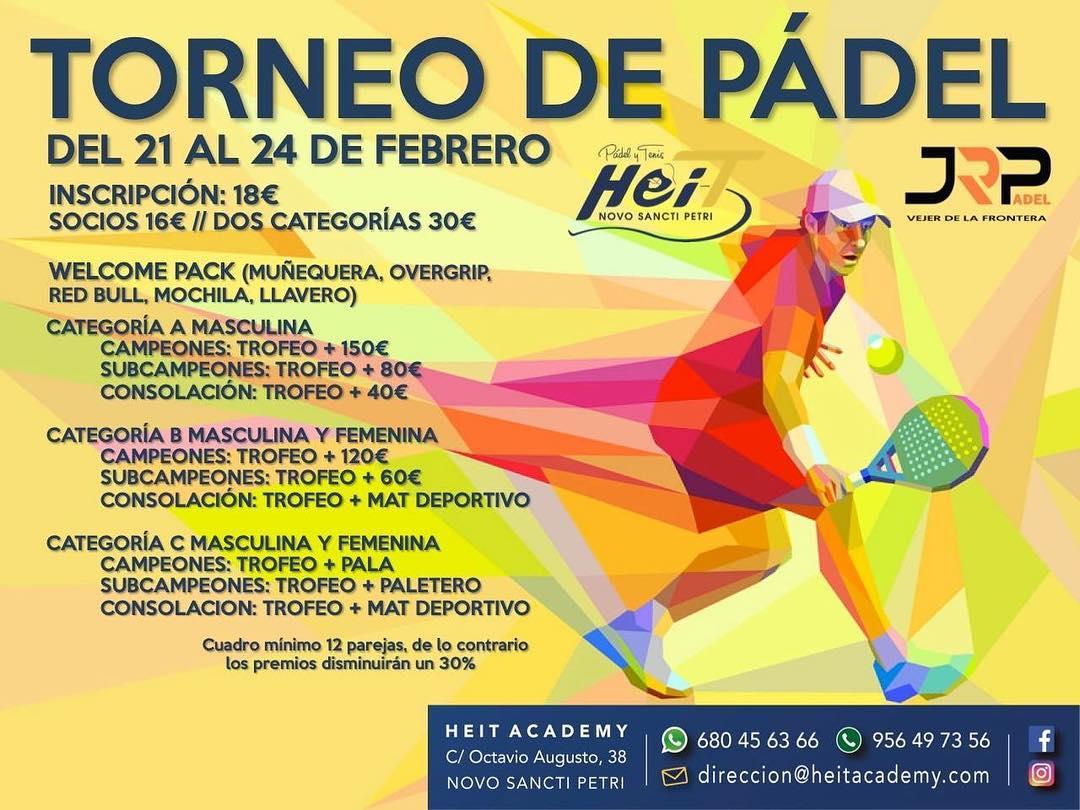 Torneo de Pádel Febrero 2019