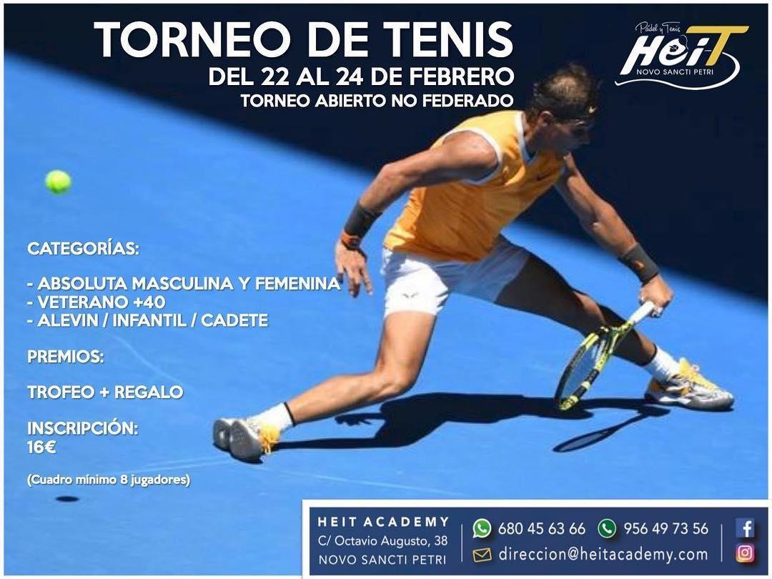 Torneo de Tenis Febrero 2019