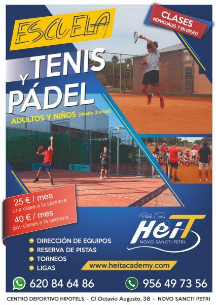 Escuela de Pádel y Tenis en Chiclana